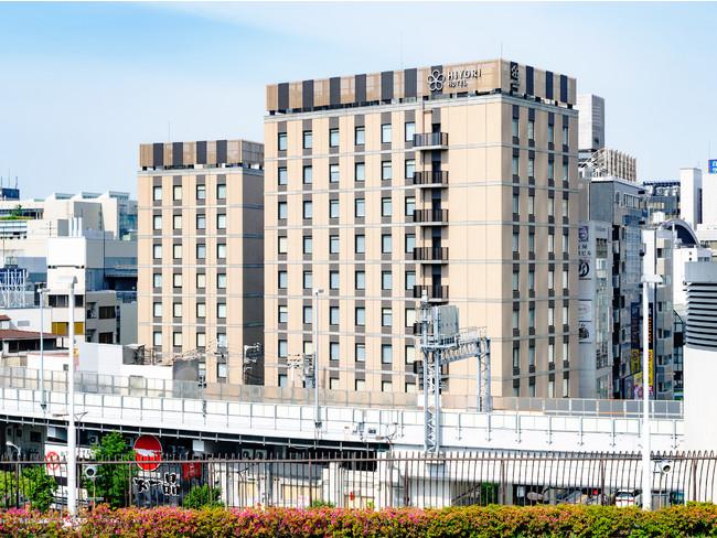 日和ホテル大阪なんば駅前・外観