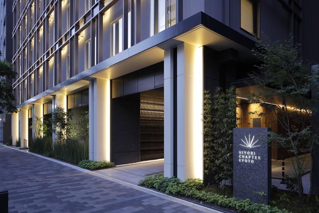 HIYORIチャプター京都トリビュートポートフォリオホテル エントランス