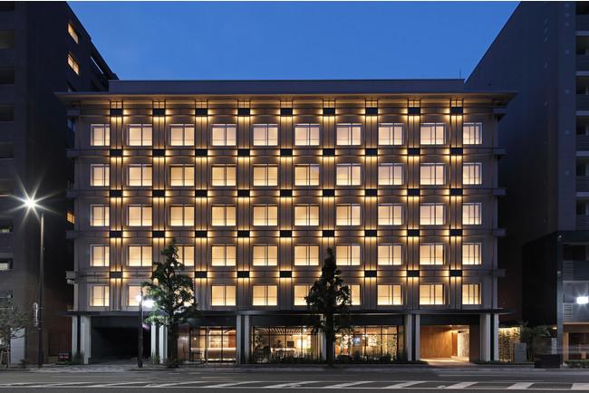HIYORIチャプター京都トリビュートポートフォリオホテル 外観(夜景)
