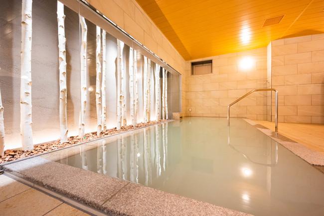 大浴場「白樺の湯」