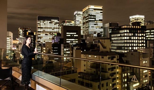 東京スカイツリーを望む「スカイテラス」
