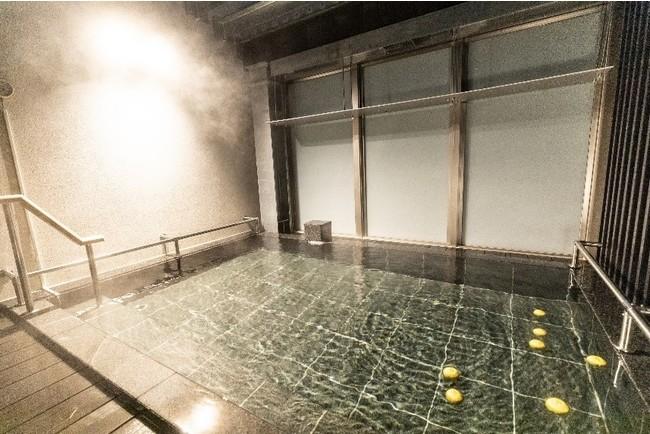 最上階露天風呂