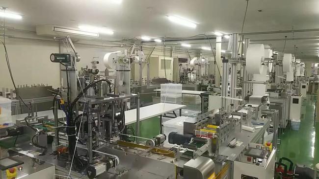国内の工場にて製造