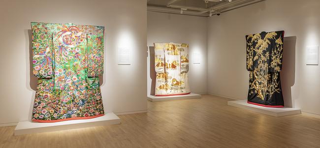 絵を纏う - 若槻せつ子「打掛」コレクション -©POLA MUSEUM ANNEX