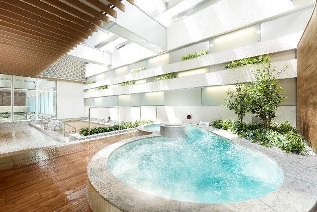 泉天空の湯 有明ガーデンの天然温泉で癒されて♪