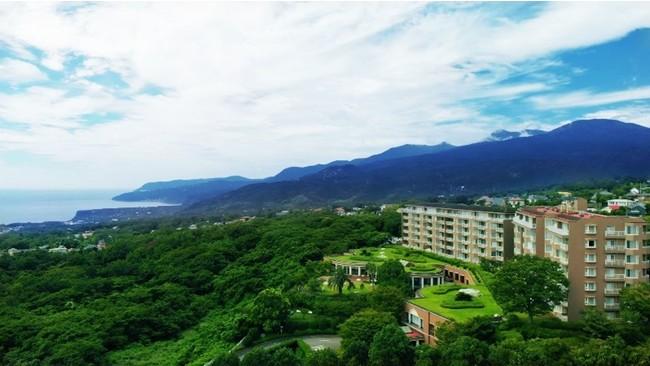 雄大な自然に囲まれたヴィラージュ 伊豆高原