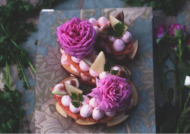 Flower Lettercake®   Holy night Sensation(フランボワーズ・フィグ・アップル)