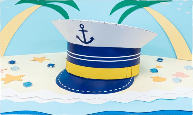 9月のお楽しみコンテンツはペーパークラフト。おうちで船長さん気分を満喫!