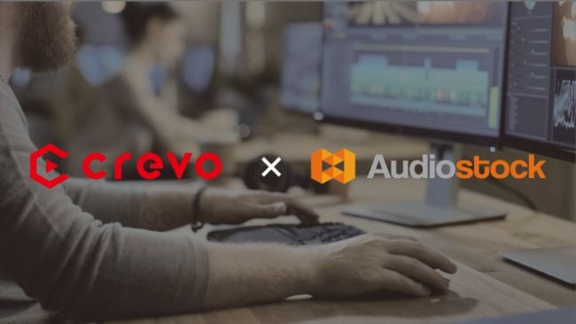 Crevo x Audiostock