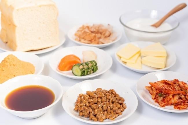 ▲発酵食品に多く含まれる乳酸菌