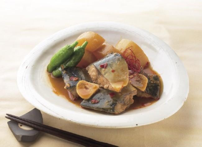 ▲にんにくと味噌の相性抜群!いつもの煮魚がピリ辛風味の一味違う一皿に