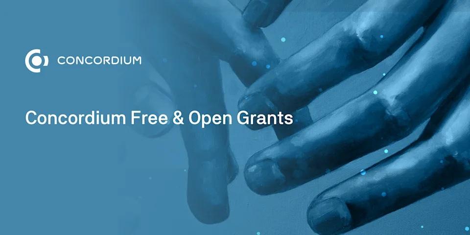 Concordiumブロックチェーン、開発者助成金プログラム「Free & Open Grants Programme」を発表