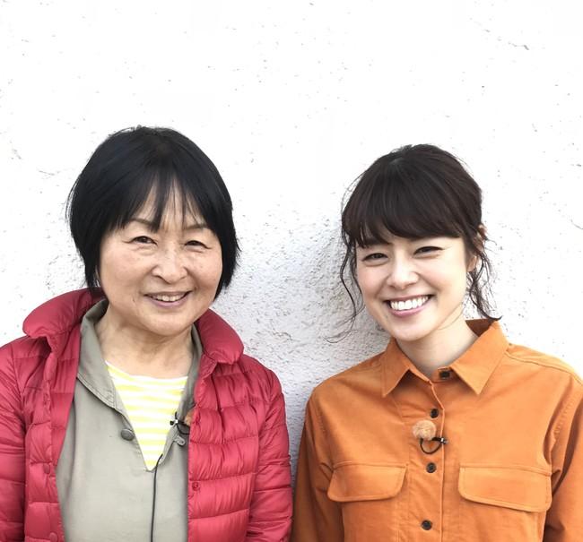 岡井路子さん(左)と川瀬良子さん(右)