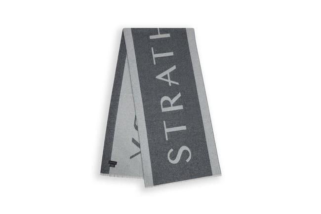 カシミアロゴスカーフ 31000円(税、送料込み) 素材90%ラムウール、10%カシミア スコットランド製