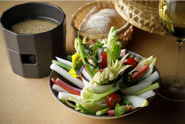 春野菜のバーニャカウダ