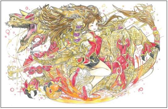 第1回 パズドラ塗り絵コンテスト結果発表 ゲームに実装予定の