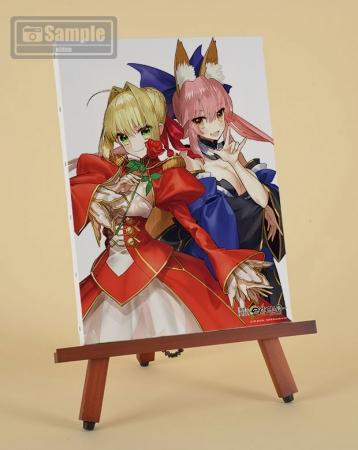 『Fate/EXTELLA』イーゼル付キャンバスアート
