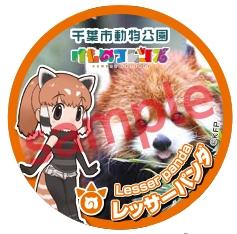 【販売】缶バッジ_レッサーパンダ