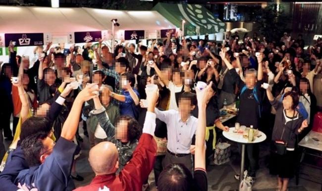 11月2日(木)~11月3日(金・祝)の2日間展開される「福徳の森 日本酒祭 morinomi2」(昨年の様子)