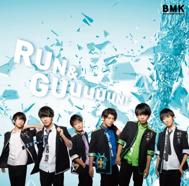 最新シングル「RUN&GUuuuuN!」が発売中のボイメン研究生。  メンバー5名がイベントに登場