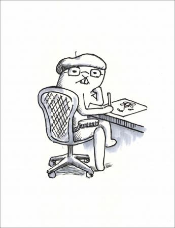 作者の芦沢ムネトは、  美大出身のお笑い芸人