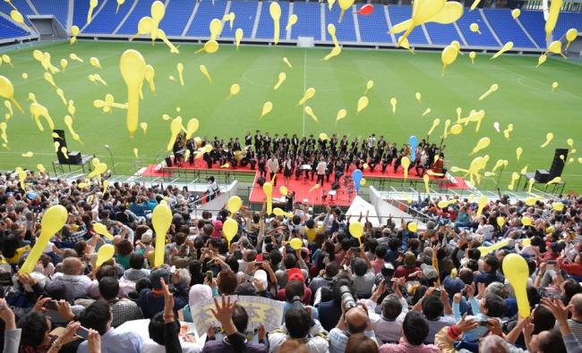 10月9日に市立吹田サッカースタジアムで行われた40周年公開生放送でも「タイガース劇場」は健在