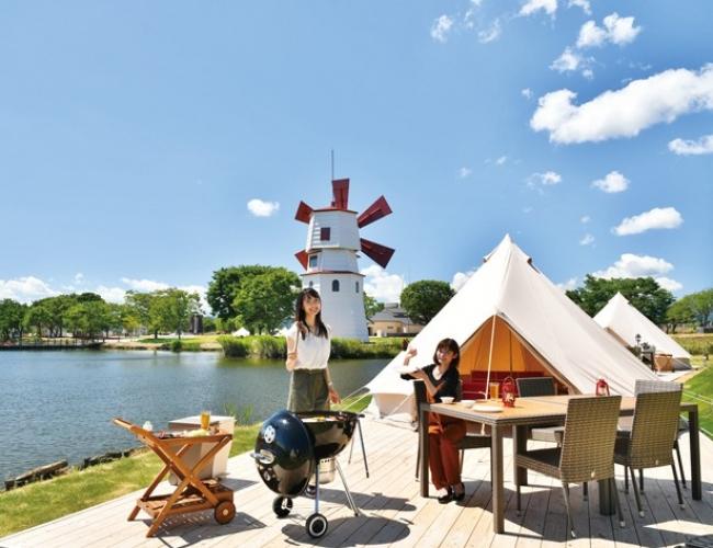 滋賀に7/25オープンした「STAGEX高島」はワンランク上のキャンプ&BBQが楽しめる