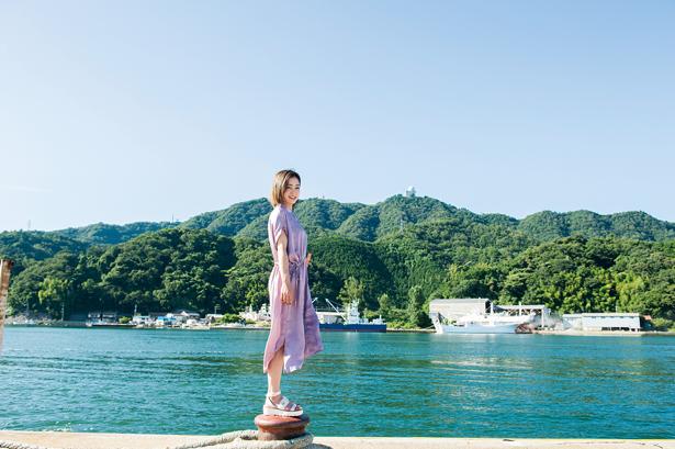 特集「海街をあるく旅」より、山陰随一の漁港・鳥取の境港。絶景やグルメがいっぱい!