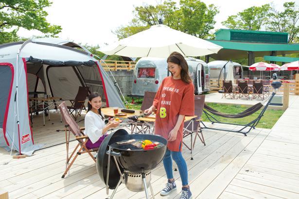 キャンプ&BBQのシーズン到来