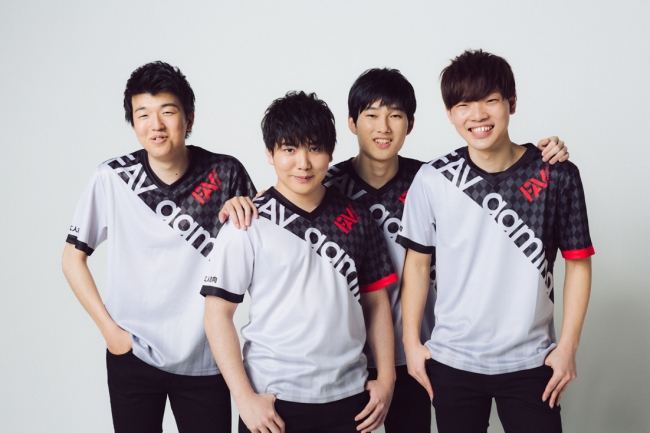 ▲JACK選手、けんつめし選手、だに選手、Kitassyan選手(写真左から)