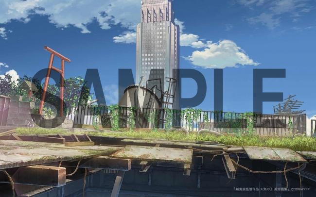 廃ビル(1920×1200ピクセル、1440×1024ピクセル、1280×1024ピクセルの3サイズ)