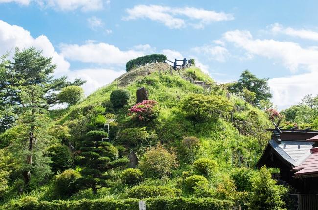 人工の富士山、荒幡富士