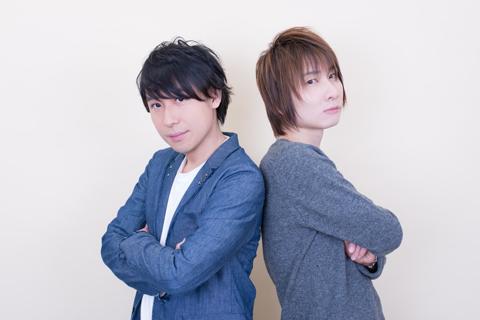 (左)鈴村健一、(右)前野智昭