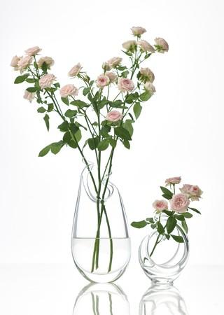 バラ<<花時間>>のために考案された花器