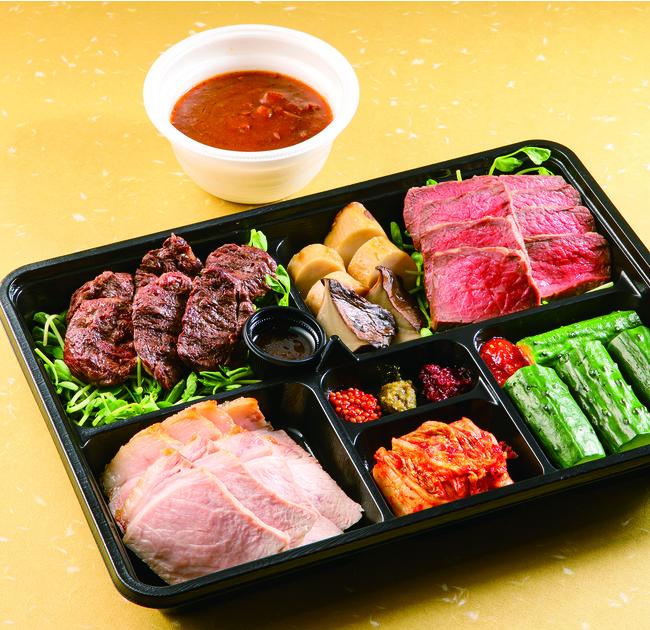 「『肉山』名古屋」のお家で登山セット2人前(¥5,670・税込)。4か月待ちの味がテイクアウトなら当日予約で!