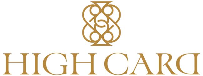 HIGH CARD ロゴ