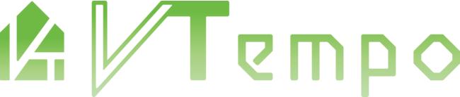 「VTempo(ブイテンポ)」ロゴ