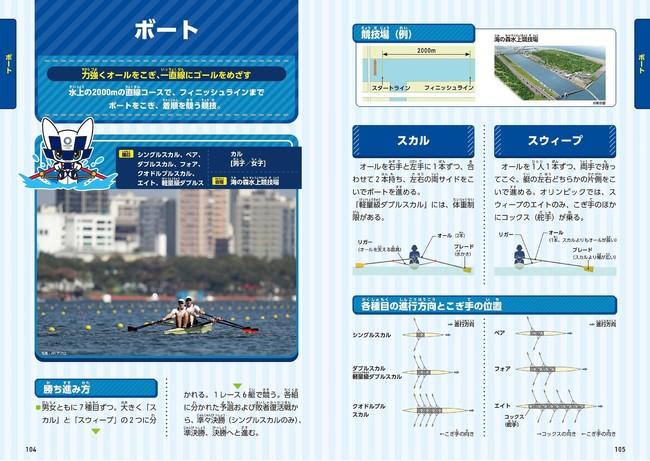 『東京2020オリンピック・パラリンピック 公式競技図鑑』より