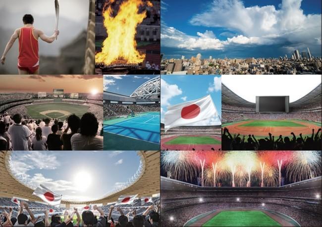 『東京2020オリンピック公式記録集』誌面イメージ ※実際の写真ではありません
