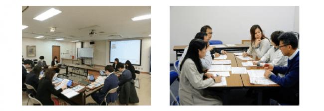 介護と仕事の両立支援に関する勉強会の様子