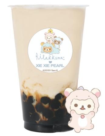 コリラックマのさくらんぼほうじ茶ミルクティー