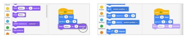 操作の様子(左図)は共有相手(右図)の画面でリアルタイムに薄く表示されます