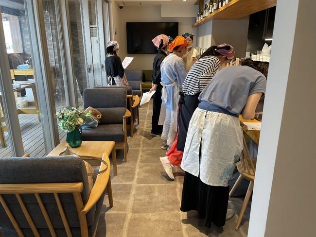 NPO設立前に開催した地域住民との料理教室イベント