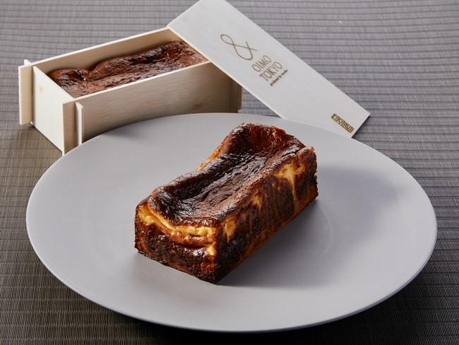 素材にこだわったチーズケーキとスイートポテトの二層からなる新感覚スイーツ。
