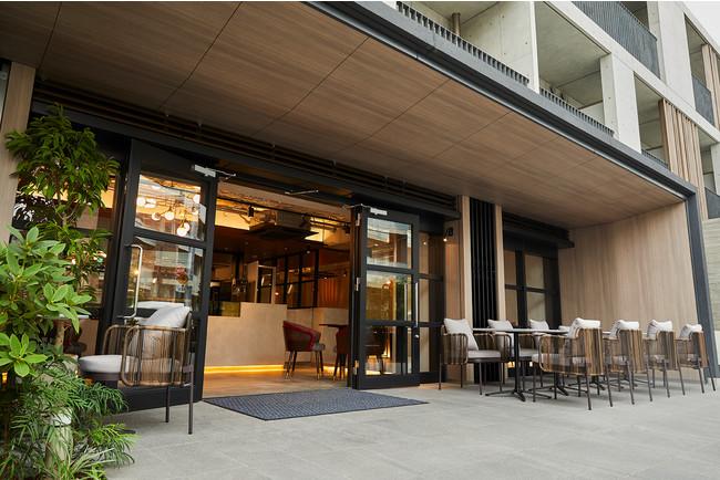 & OIMO TOKYO CAFE外観(東京都目黒区青葉台1-14-4 CONTRAL nakameguro 1F)
