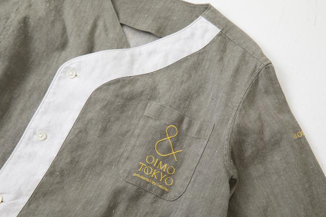 ブランドカラーのグレーを基調とし、シェフコートには珍しい曲線を採用  Photographer / Yui Fujii(Roaster)