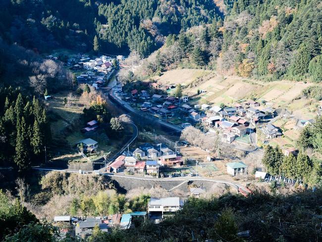 東京都の最西部にある檜原村