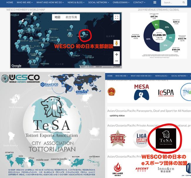 eスポーツ国際団体WESCOへ日本のeスポーツ団体として初加盟
