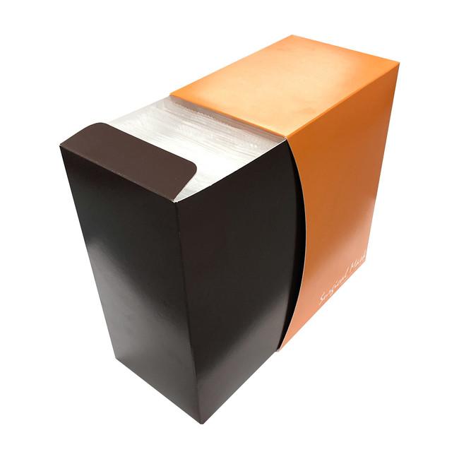 箱も日本製にこだわりました。