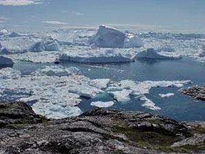 イルリサット氷河